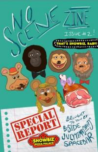 No Scene Zine #2 Special Report Showbiz Pizza Palace