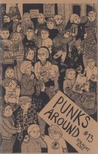 Punks Around #13 Straight Edge