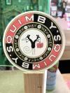Quimbys Four Inch Logo Sticker