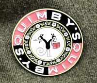Quimbys Logo Enamel Pin Button