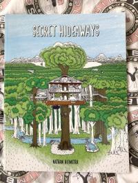 Secret Hideaway Coloring Book