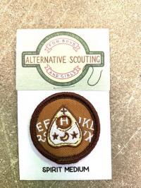 Spirit Medium Alternative Scouting Merit Badge Patch