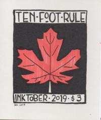 Ten Foot Rule Inktober 2019