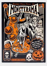 Monsterama #1 Nostalgia Driven Horror
